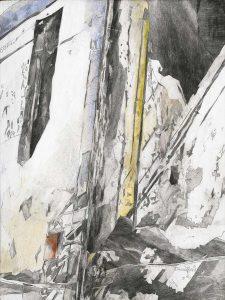"""""""Licht"""", Mischtechnik auf Hartfaser, 2004, 80 x 60 cm"""