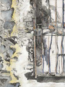 """""""Manoel Island"""", Mischtechnik auf Hartfaser,1996, 80 x 60 cm"""